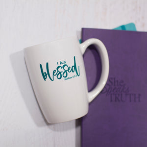 I Am Blessed - 14oz Coffee Mug - NOW ONLY $6.00