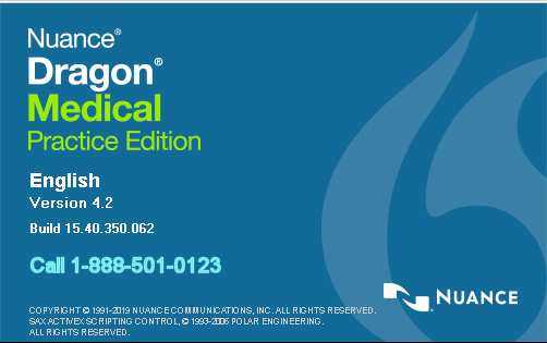 Dragon Medical 4.2 Update. Nuance releases Dragon Medical Practice Edition 4 update to version 4.2