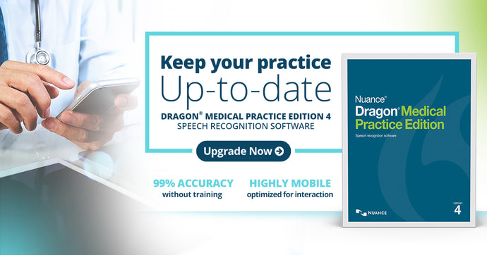 Dragon Medical Practice Edition 4 is released bringing artificial intelligence into medical dictation.
