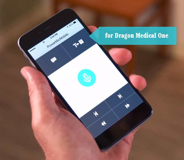 PowerMic Mobile App for Dragon Medical One