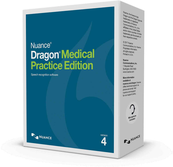 Dragon Medical Practice Edition 4 Full Edition
