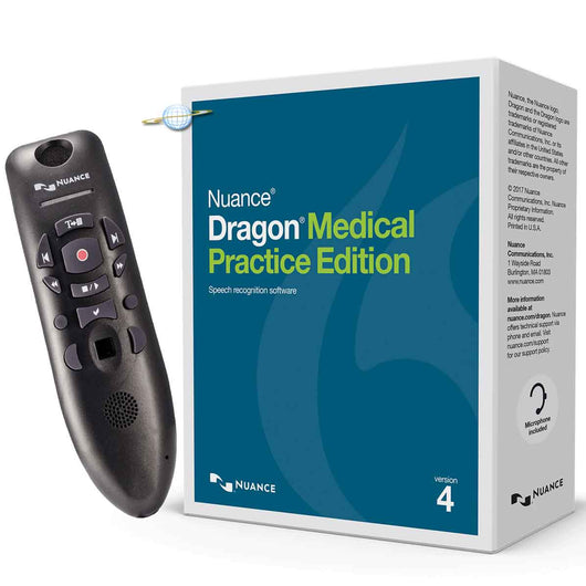 Dragon Medical Practice Edition 4 with Powermic 3