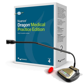 Dragon Medical Practice Edition 4 with Speechware Tablemike Microphone
