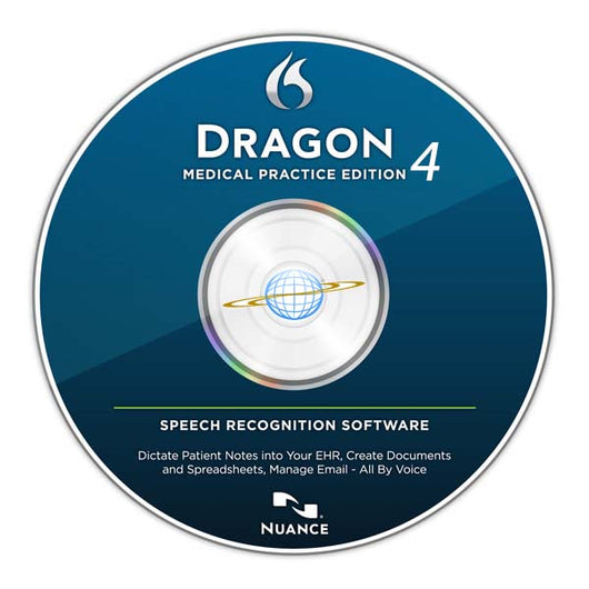 Dragon Medical Practice Edition 4.1 Downloadable Media