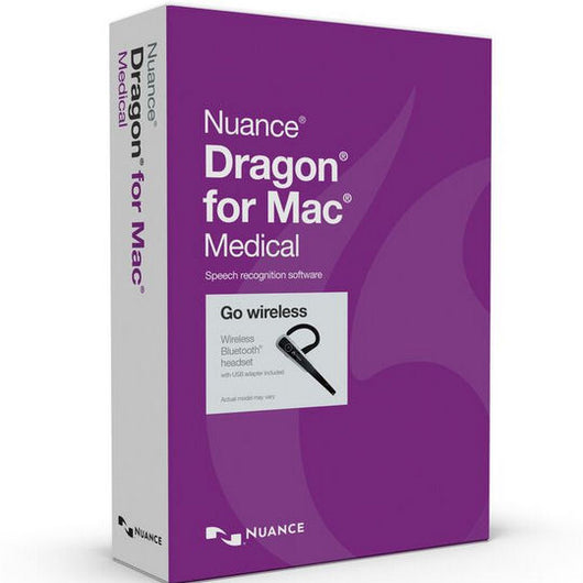 Dragon Medical for Mac Bluetooth Edition v5