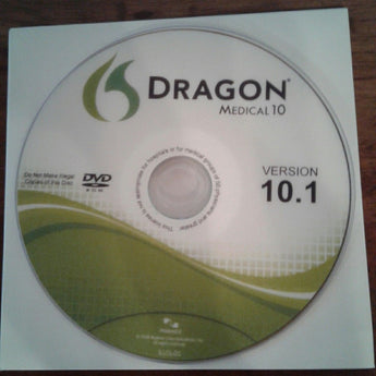 Dragon Medical v10 Downloadable Media