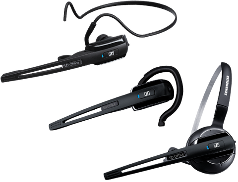 Sennheiser Wireless Convertible Headset for Dictation
