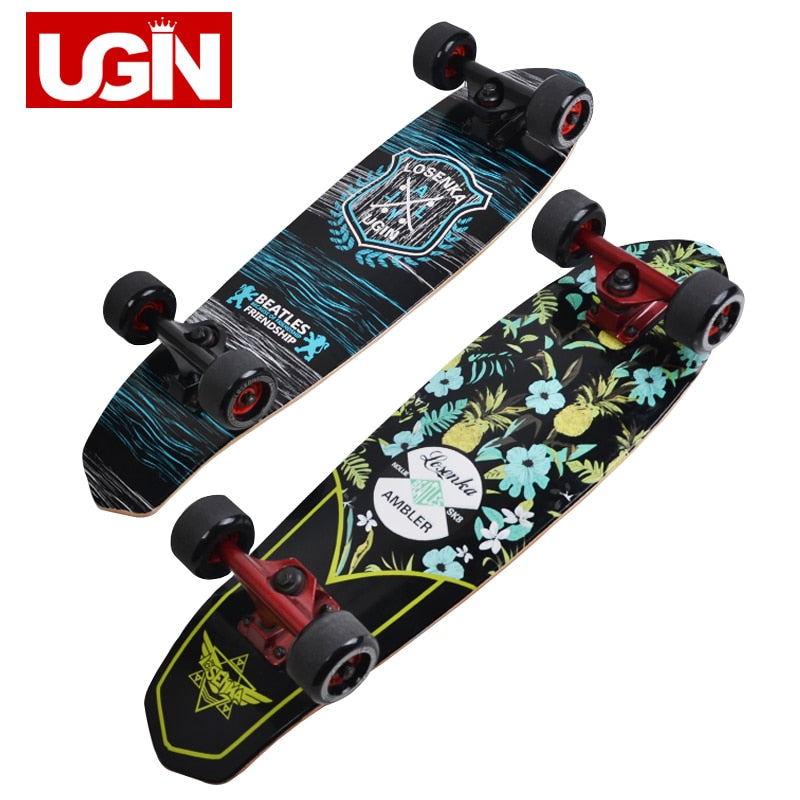 UGIN Freestyle 28 inch Long Skate Board