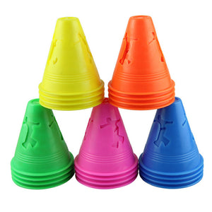 20pc Set of  Agility Freestyle Slalom Cones