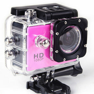 Colorful Waterproof Video Sports Cameras 2.0 Inch 1080P HD DVR