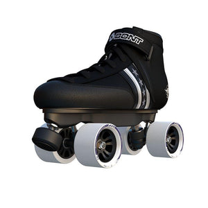 Original Bont Quadstar Roller Skates with Genuine Leather Heatmouldable Boots