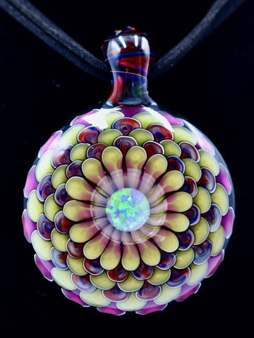 JuJu Glass - Sunlit Mandala (40mm)