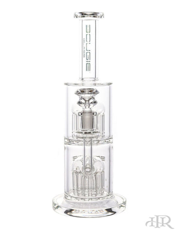 Bougie Glass - Double Tree Perc Tube (11