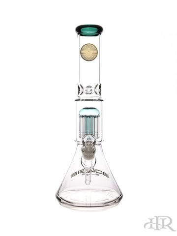 Bougie Glass - Raised Base Tree Perc Beaker (15.5