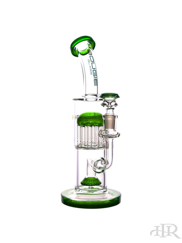Bougie Glass - Bent Neck Showerhead Diffuser with Tree Perc (10.5