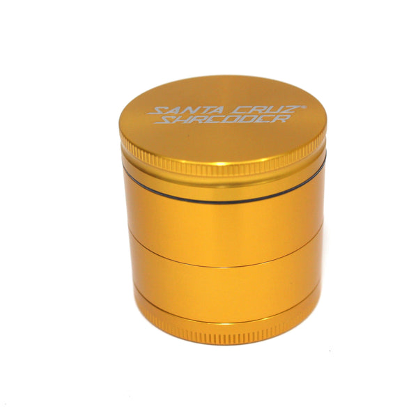 Santa Cruz Shredder 4-Piece Grinder - Medium Gold