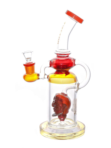 "Tattoo Glass - Monster Head Diffuser Rig (11"")"