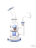 Tsunami Glass Concentrate Dab Bucket Ball Rig Blue