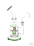 Tsunami Glass Concentrate Dab Bucket Ball Rig Green