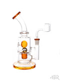 Tsunami Glass Concentrate Dab Bucket Ball Rig Amber
