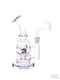Tsunami Glass Concentrate Dab Bucket Ball Rig Purple