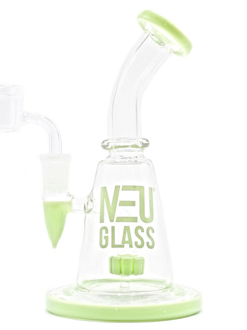 NEU Glass Concentrate Rig Shower Head - Puck Perc (8