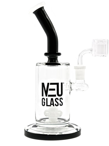 NEU Glass Water Pipe Concentrate Rig Shower Head - Bubble Middle (9