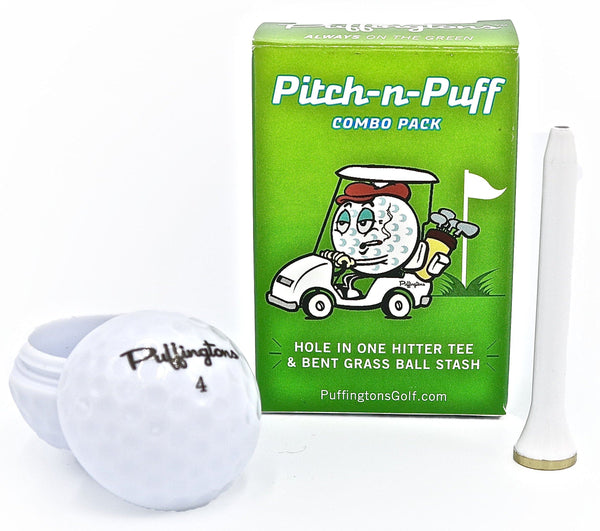 Puffington Hole in One Hitter Tee