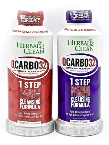 Herbal Clean - QCarbo32 1 Step