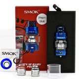 SMOK - TFV12 Baby Prince Tank Kit 4.5mL Capacity Blue Opened