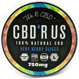 CBD'R US Edibles - Very Berry Slices (750mg)