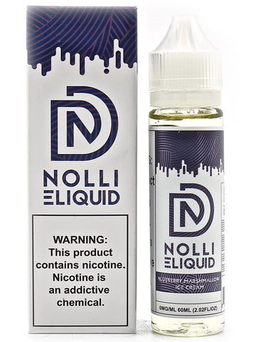 Nolli Designs E-Liquid - Blueberry Marshmallow Ice Cream (60mL)