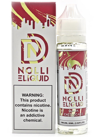Nolli Designs E-Liquid - Guava Cheesecake (60mL)