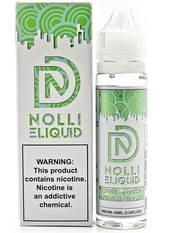 Nolli Designs E-Liquid - Green Apple Pear (60mL)