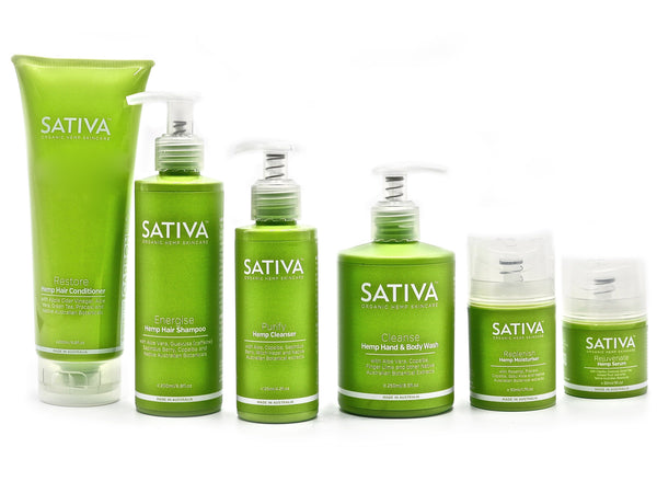 SATIVA Hemp Skincare Total Bundle
