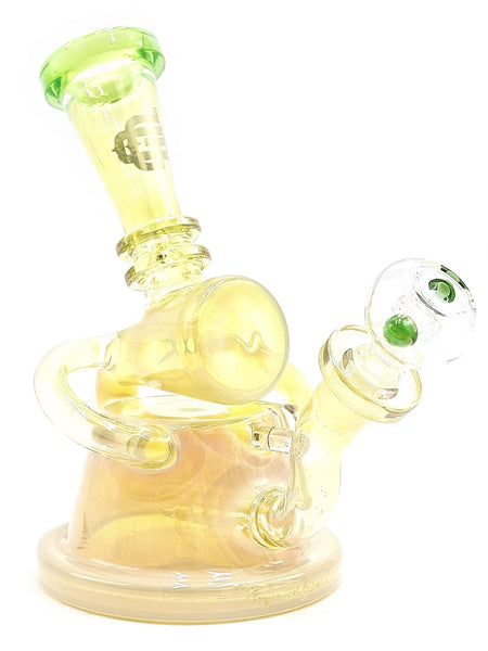 "Crystal Glass Fumed Recycler Stemline Diffuser (8"")"