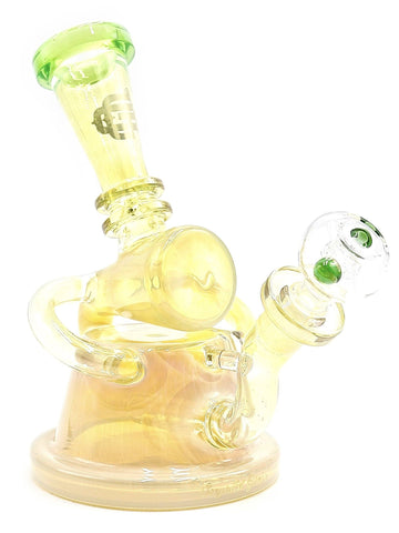 Crystal Glass - Fumed Recycler Stemline Diffuser (8
