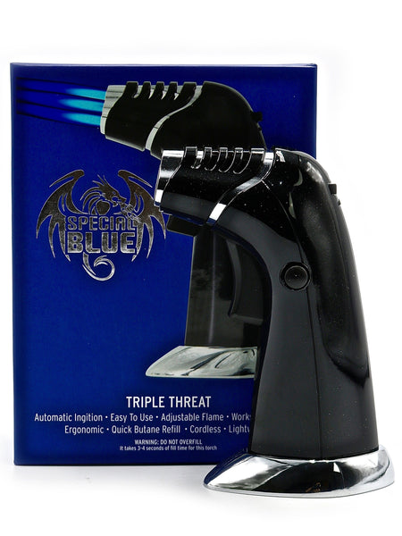 Special Blue Professional Torch - Triple Threat