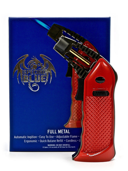 Special Blue Professional Torch - Full Metal