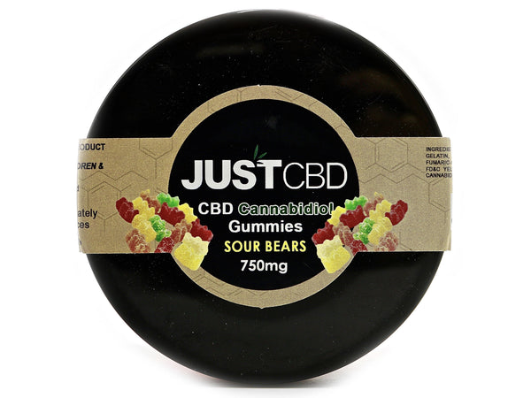 JUST CBD - Gummy Edibles (750mg) - Multiple Flavors