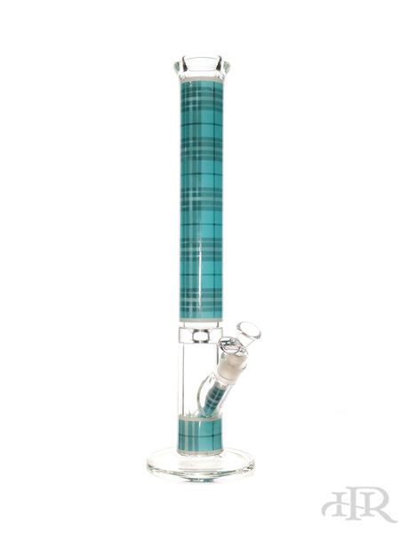 "Hoss Glass - Blue Kit - Tartan Straight Tube with Case Kit (18"")"