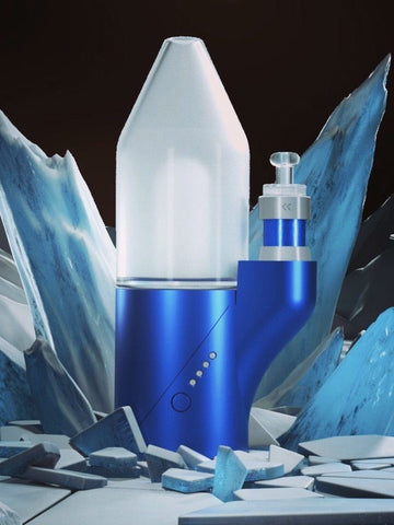 Focus V - Arctic Blue Carta Vape Rig Limited Edition (PRE-ORDER)