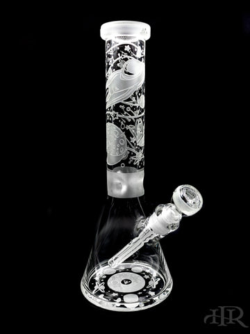 Milkyway Glass - Space Odyssey Beaker (14