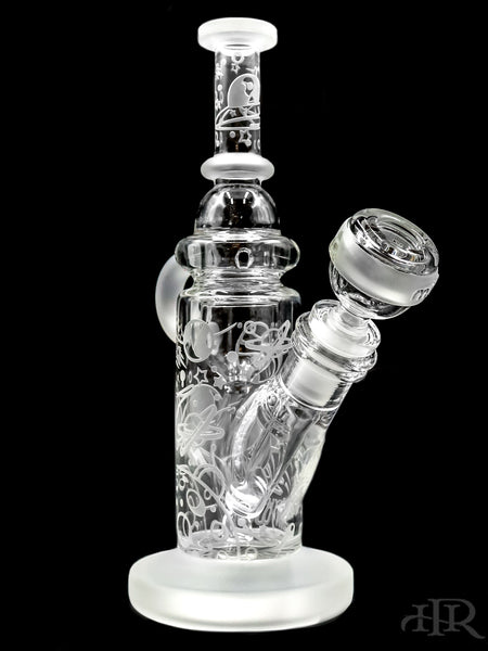 "Milkyway Glass - Space Odyssey Recycler Rig (9"")"