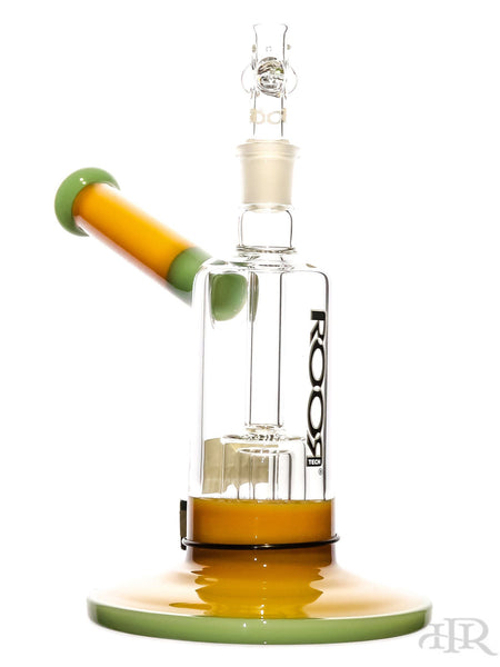 "RooR Tech Bubbler - Tangie & Mint Barrel Perc (10"")"