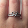Hearts Aflame Promise Ring