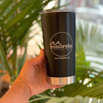concrete love  //  20 oz tumbler
