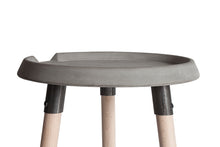 concrete side table