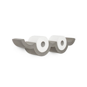 concrete cloud toilet paper holder