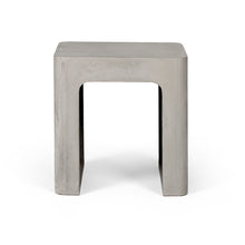 concrete edge stool